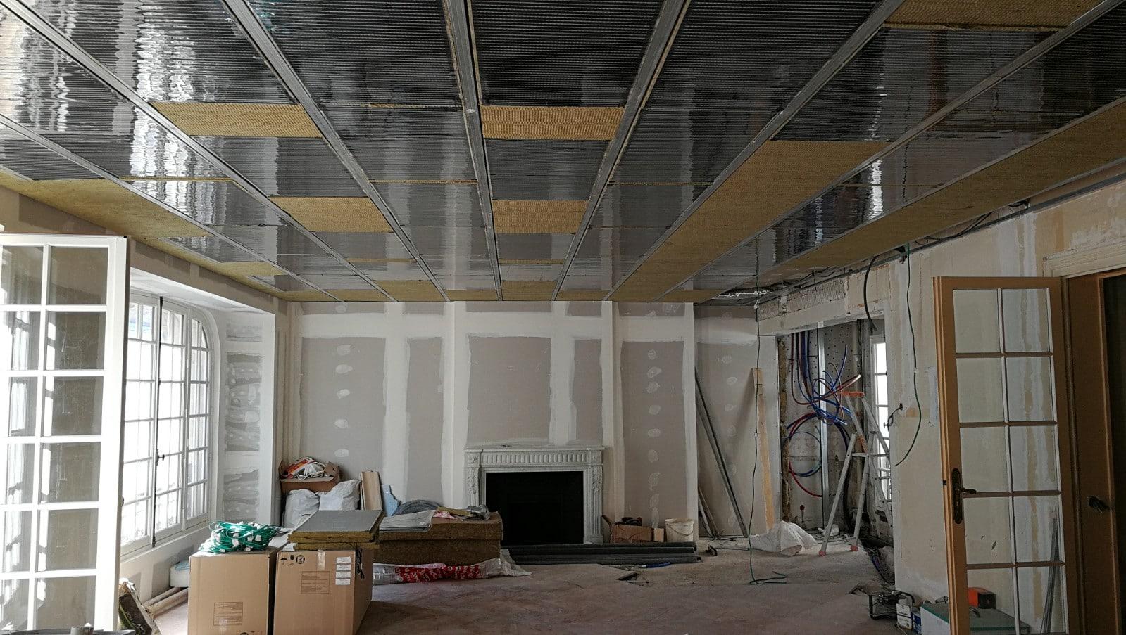 panotop chauffage lectrique au plafond de la soci t technolim. Black Bedroom Furniture Sets. Home Design Ideas