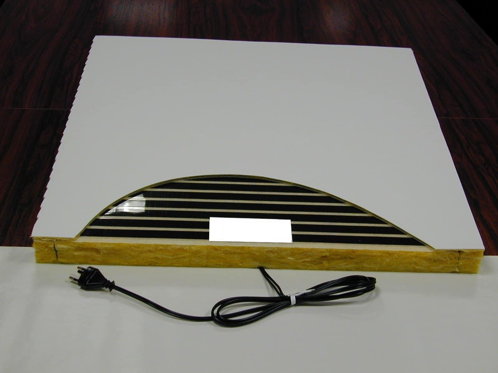 Modules acoustic de la société Technolim à Limoges, spécialiste en chaleur rayonnante